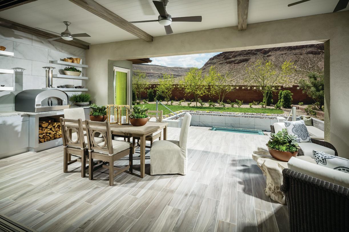Enjoy seamless outdoor living