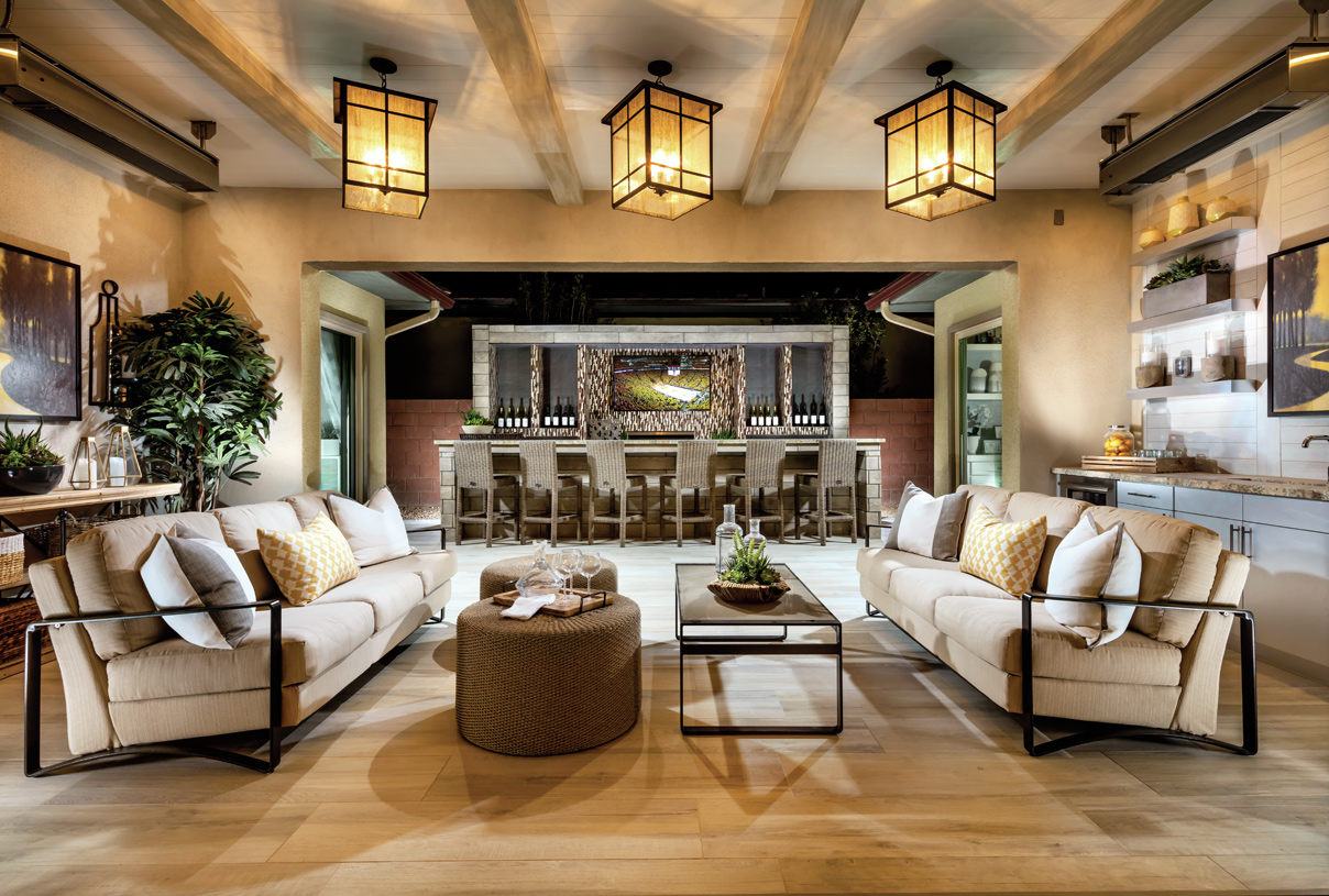 Beautiful and spacious covered patio