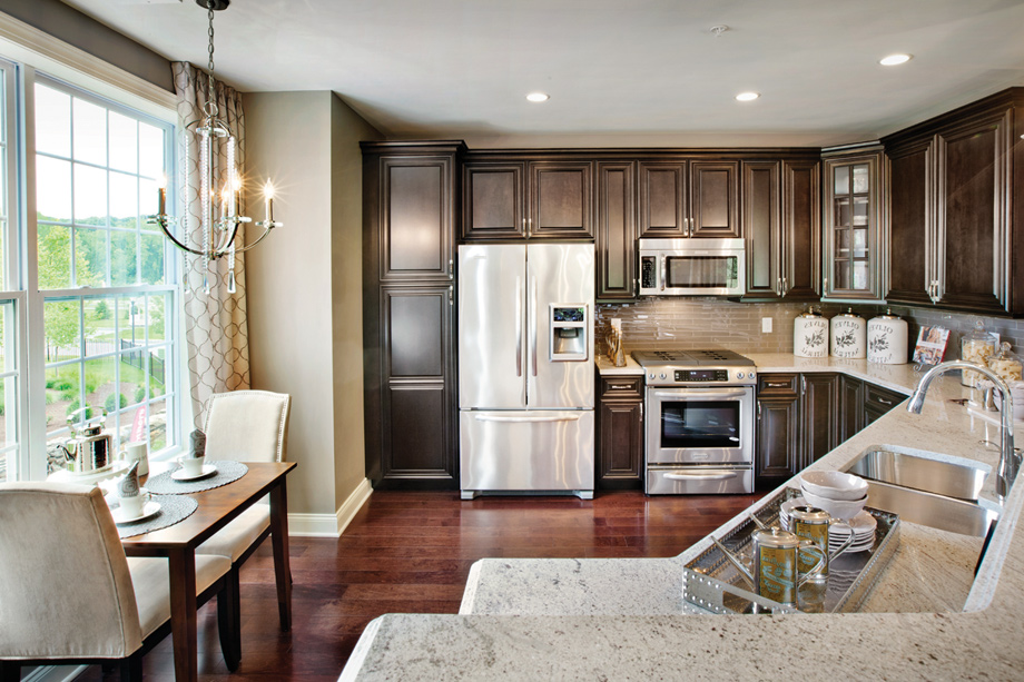 Each condominium residence will feature a well-appointed kitchen!