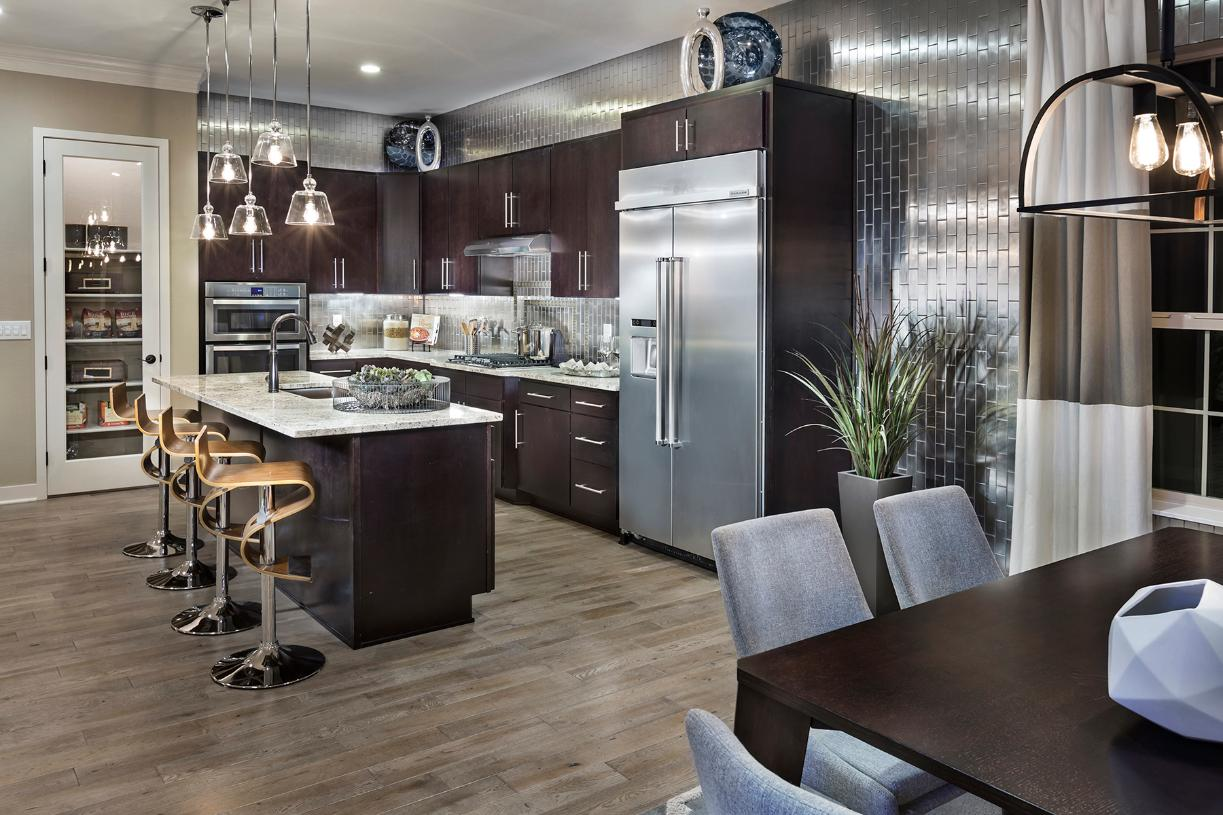 Trelease kitchen and dining areas