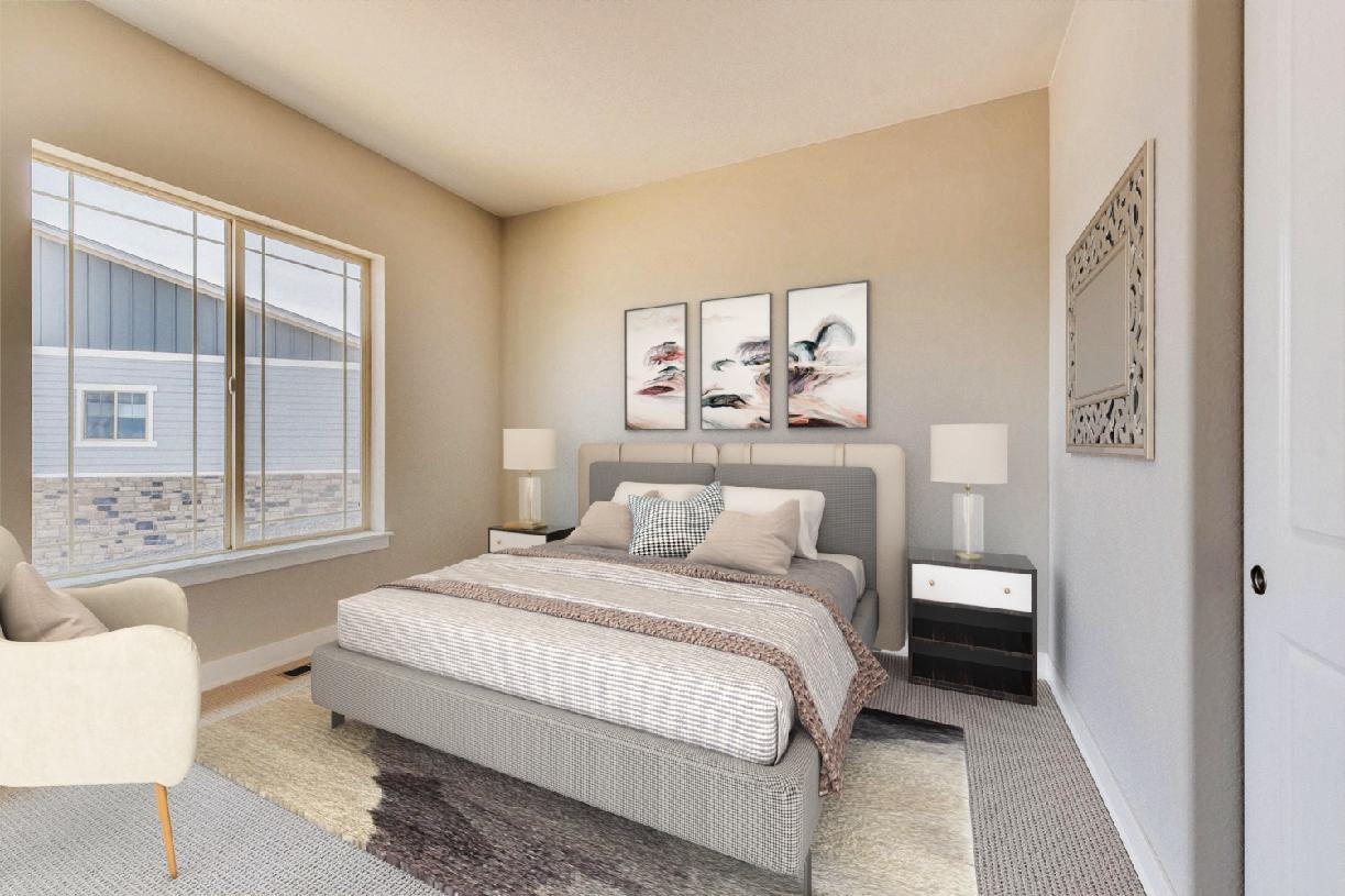 Pendleton secondary bedroom