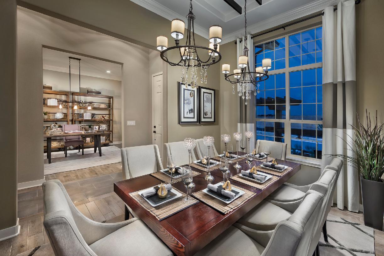 Trelease dining room