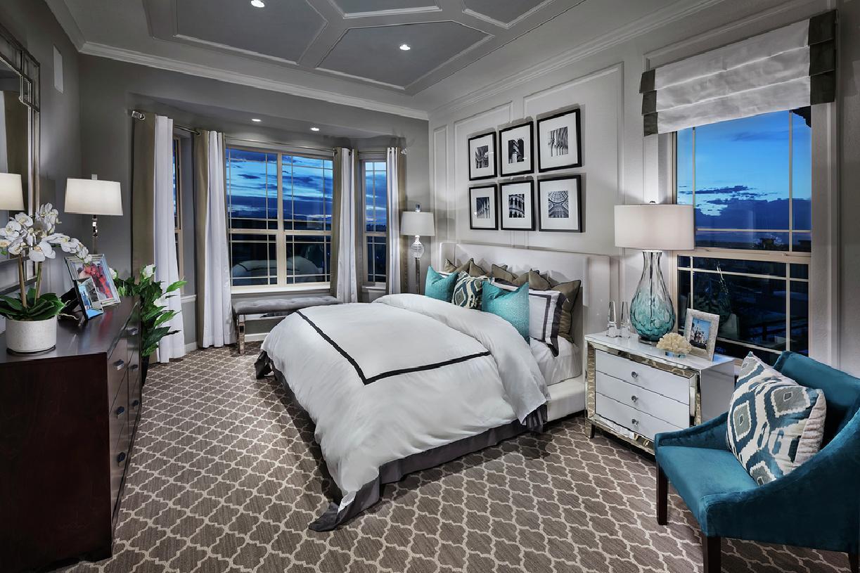 Carson primary bedroom