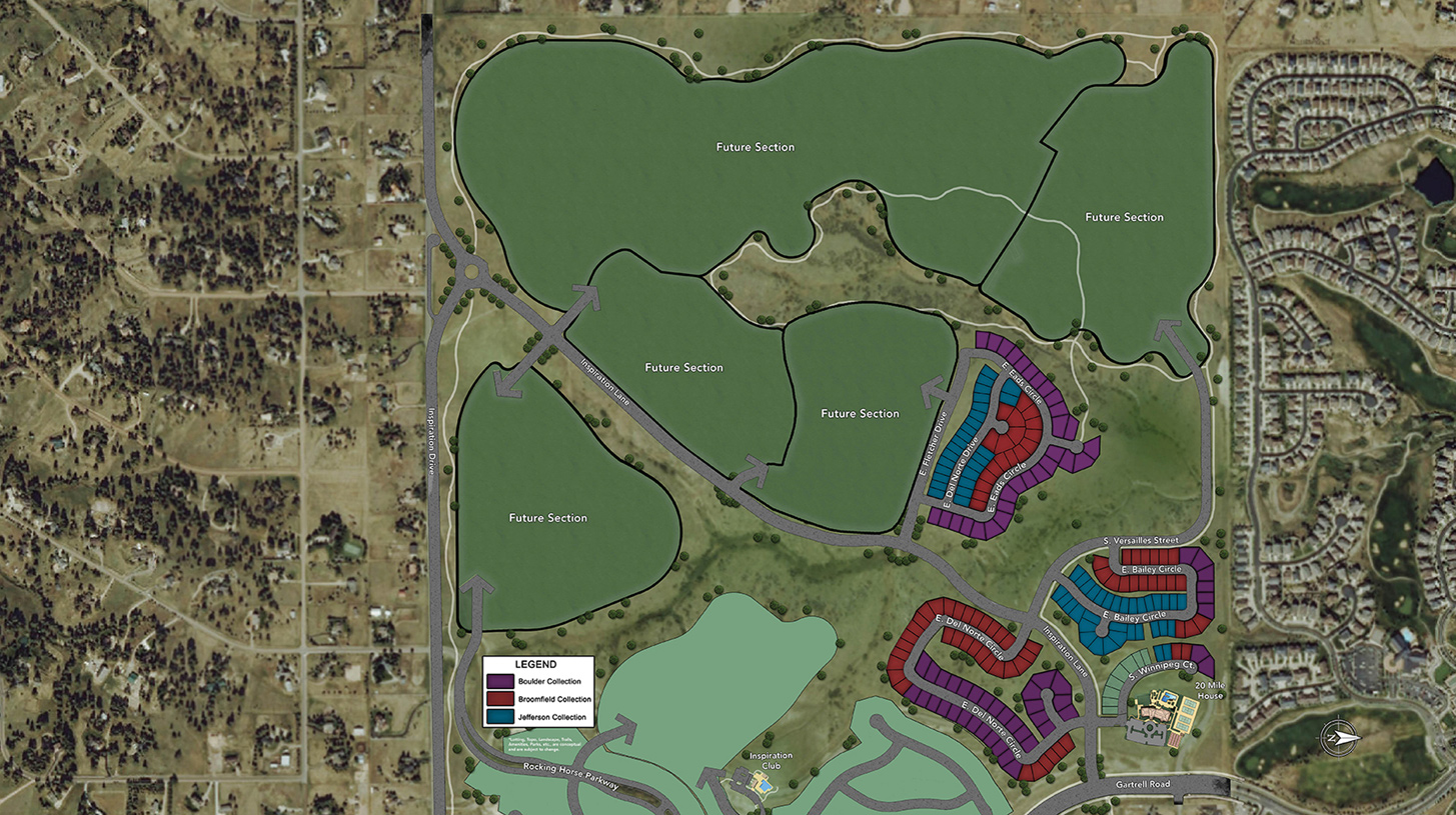 Toll Brothers at Inspiration Overall Site Plan