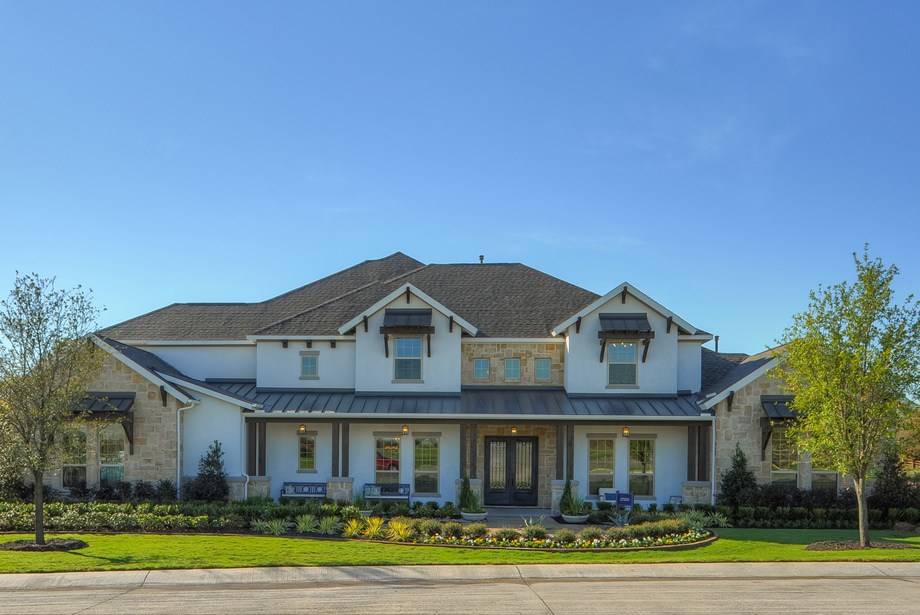 The Charleston Hill Country Model Home Now Open - Parkside at Fairview - Fairview, TX - Collin County