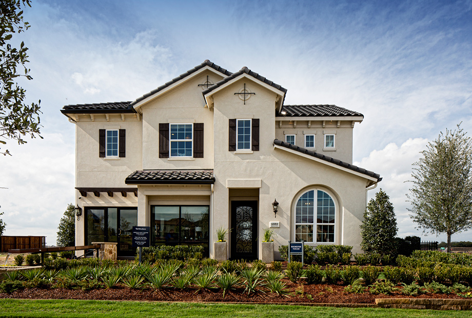 Rochester Tuscan Decorated Model - Phillips Creek Ranch - The Villas at Marshall - Frisco, TX