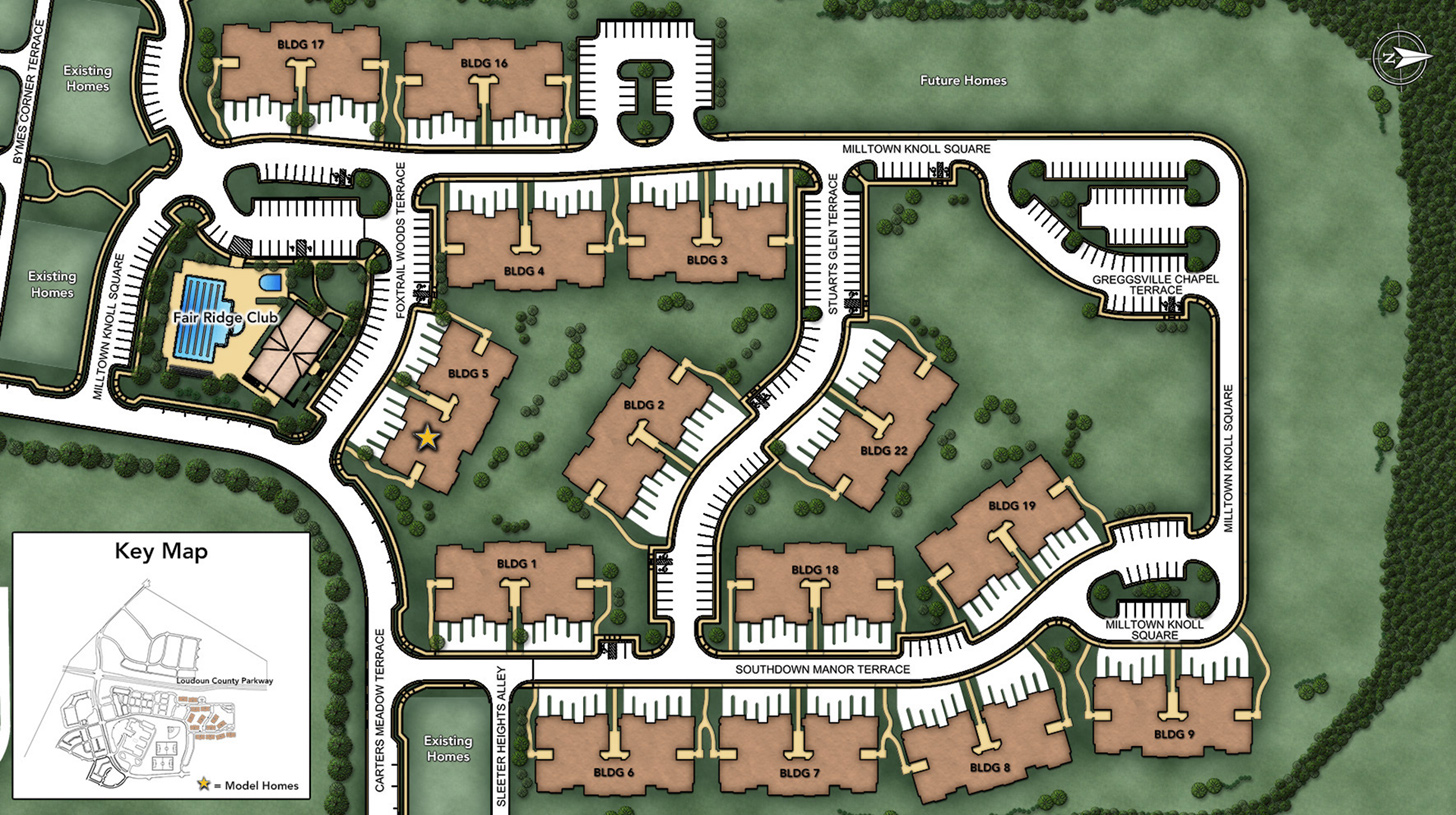 Loudoun Valley - The Ridges Site Plan