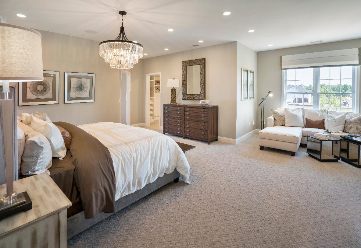 Primary bedroom suite alternative view