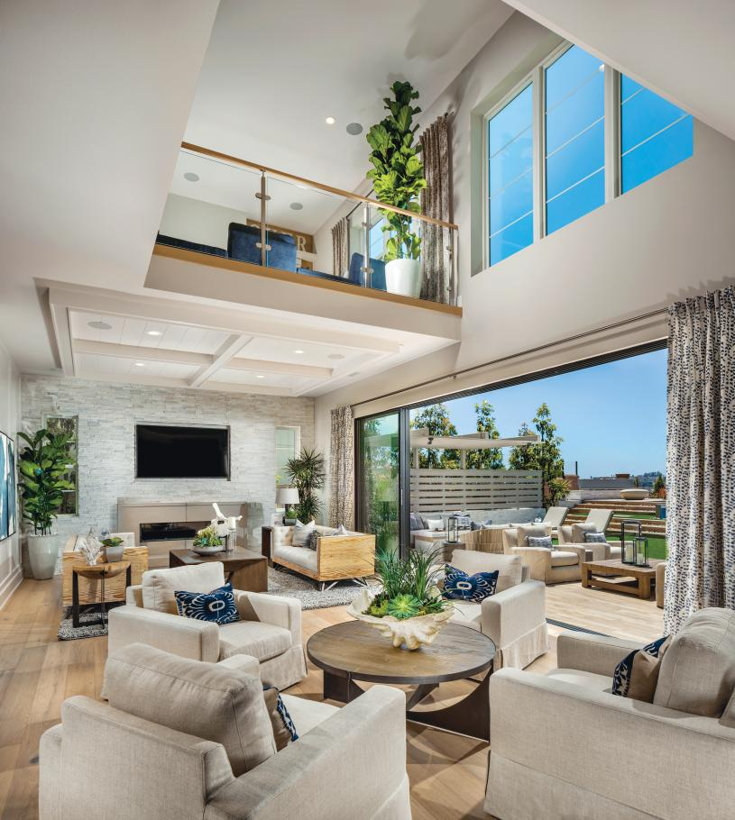 Great rooms with views to the outdoor