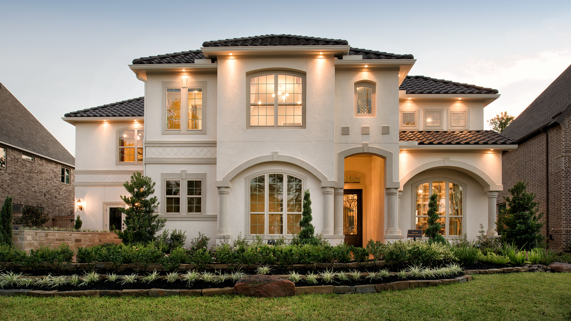 Vitoria Mediterranean Professionally Decorated Model Home - Sienna Plantation -  Missouri City, TX