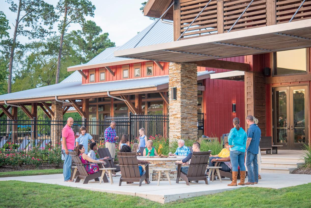 Abundant indoor/outdoor entertaining spaces at The Retreat