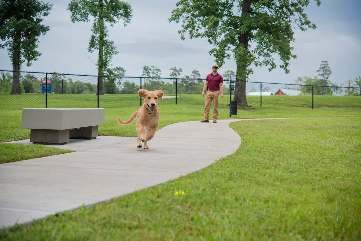 Pet-friendly community with on-site community park