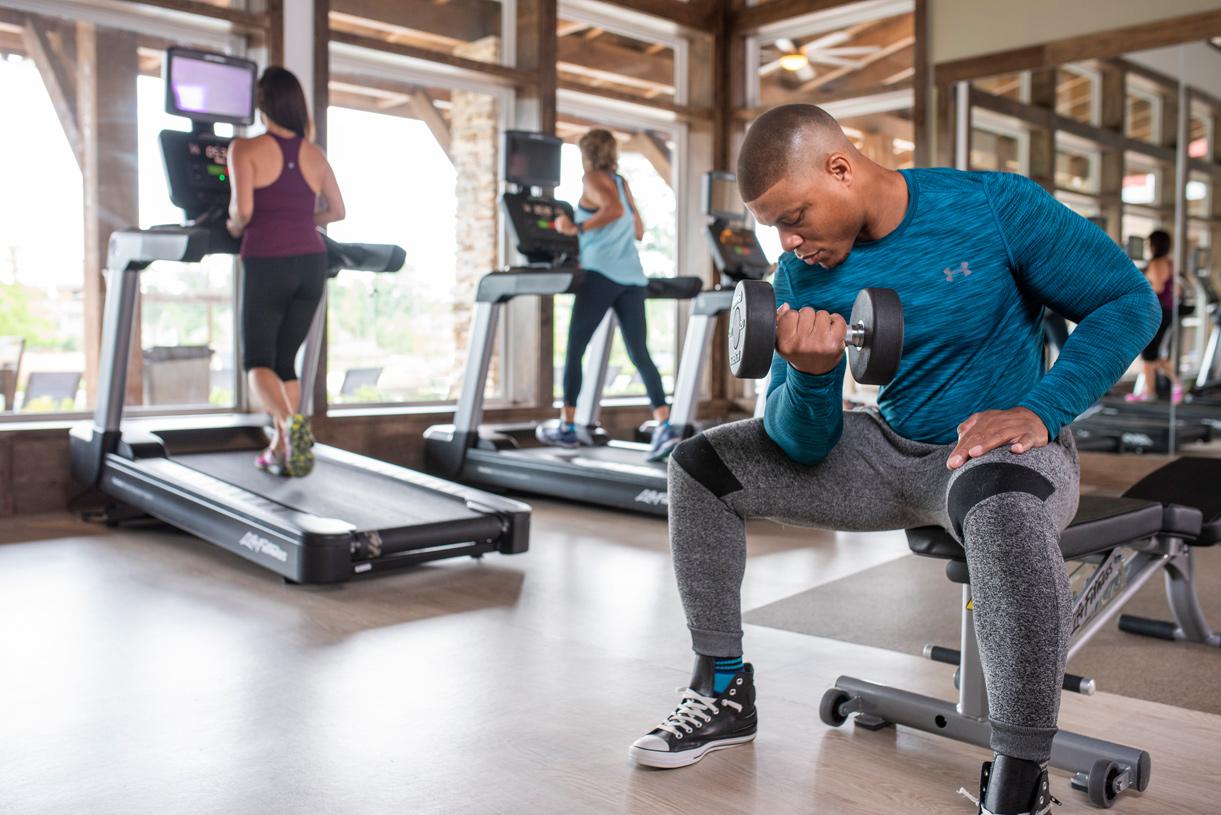 Award-winning on-site amenities like the 24-hour fitness center