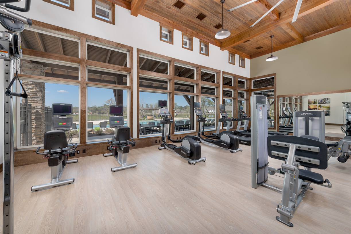 State-of-the-art fitness center at NorthGrove