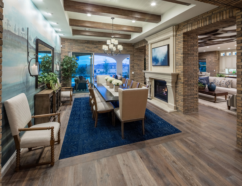 excellent toll brothers design your own home. The Taranto Dining Room Las Vegas NV New Homes for Sale  Los Altos