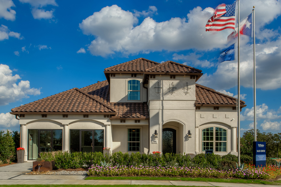 Newcastle Mediterranean Model Home Now Open - Southlake Glen - Southlake, TX - Tarrant County