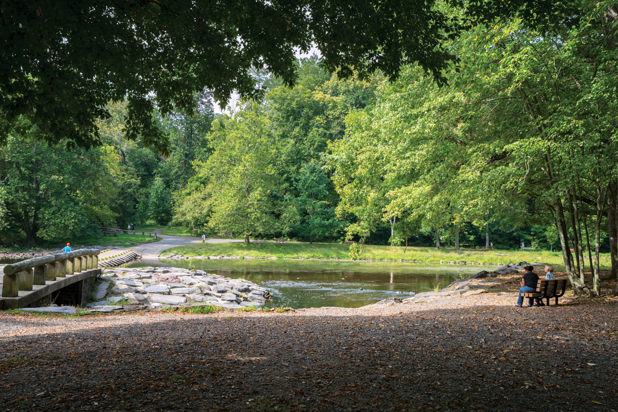 Explore nature at Tyler State Park