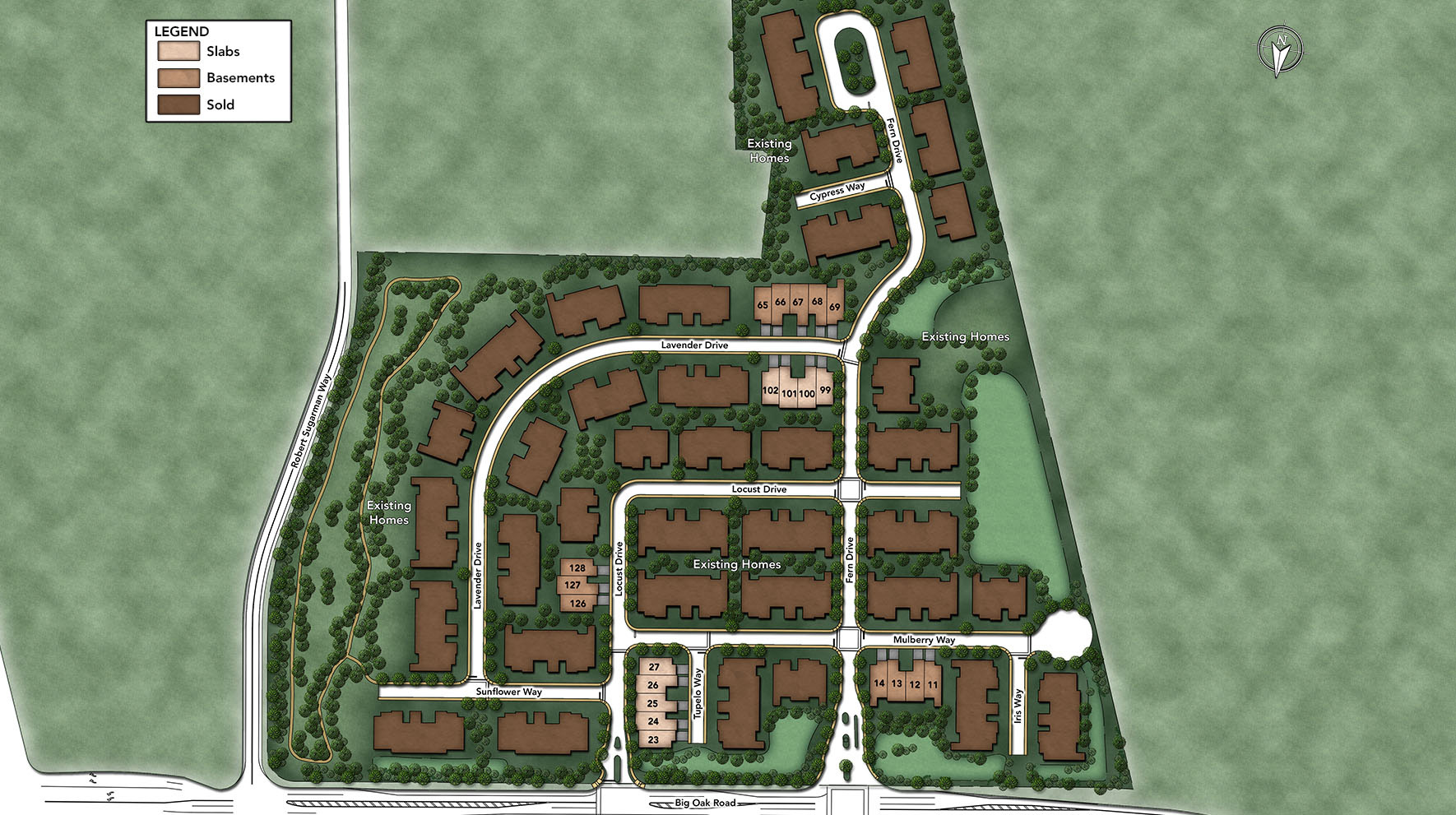Regency at Yardley - The Carriage Collection Site Plan I