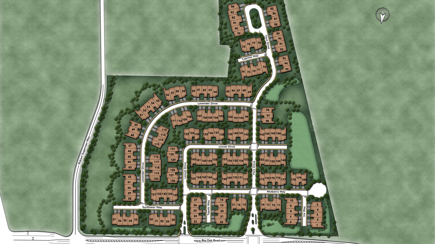 Regency at Yardley - The Carriage Collection Overall Site Plan