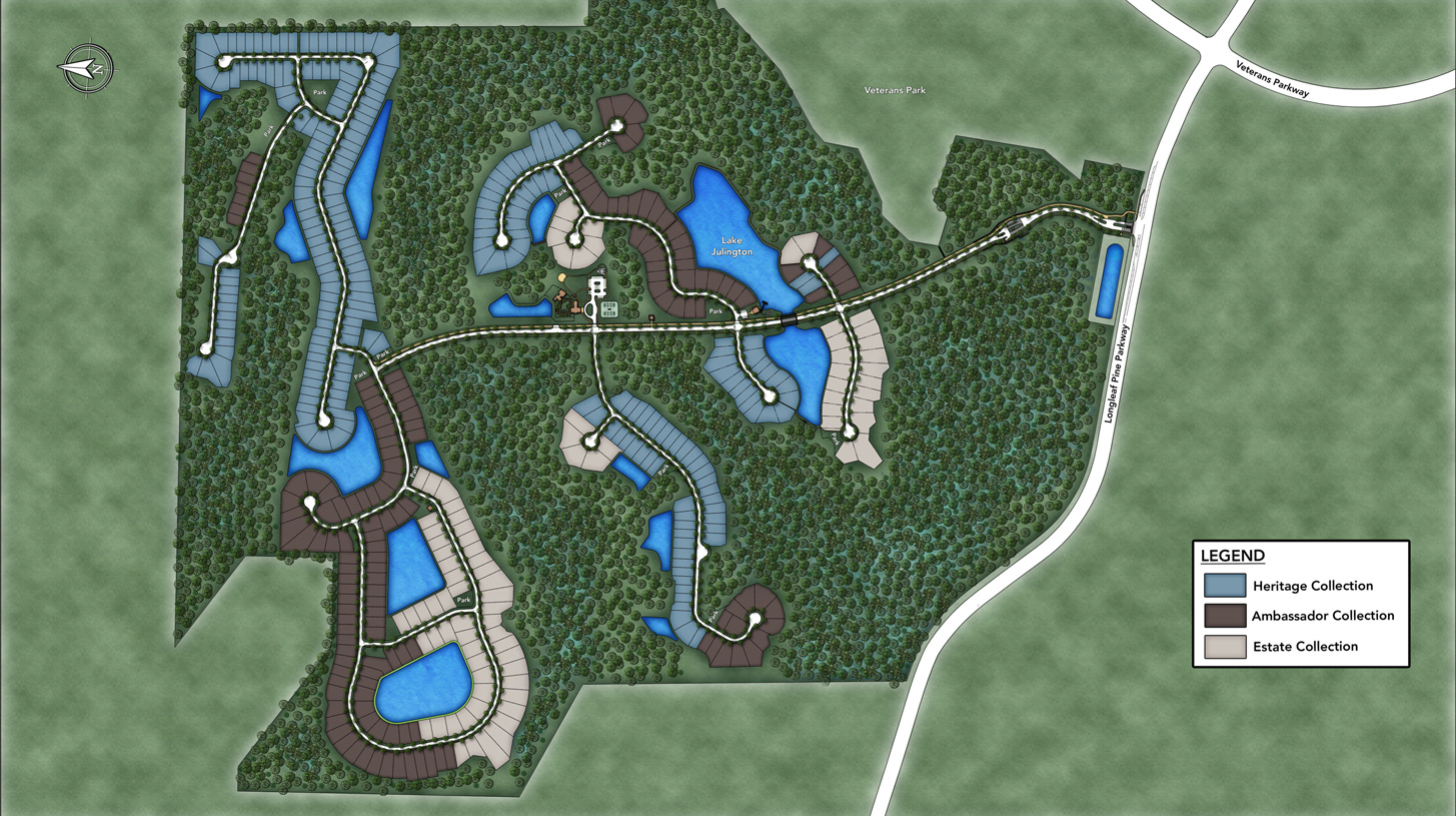Julington Lakes - Julington Lakes Overall Site Plan