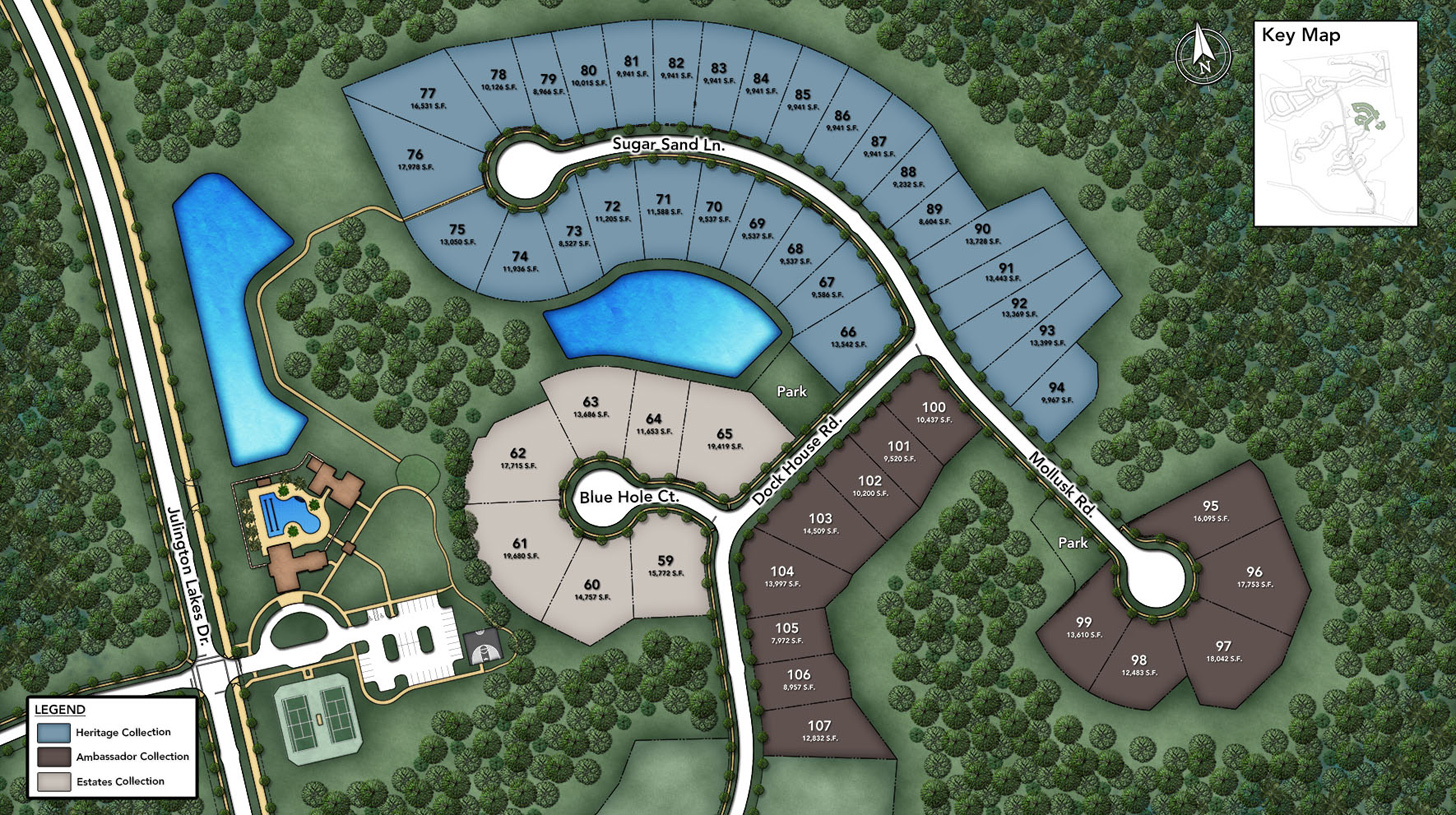 Julington Lakes - Julington Lakes - Heritage Collection Site Plan II