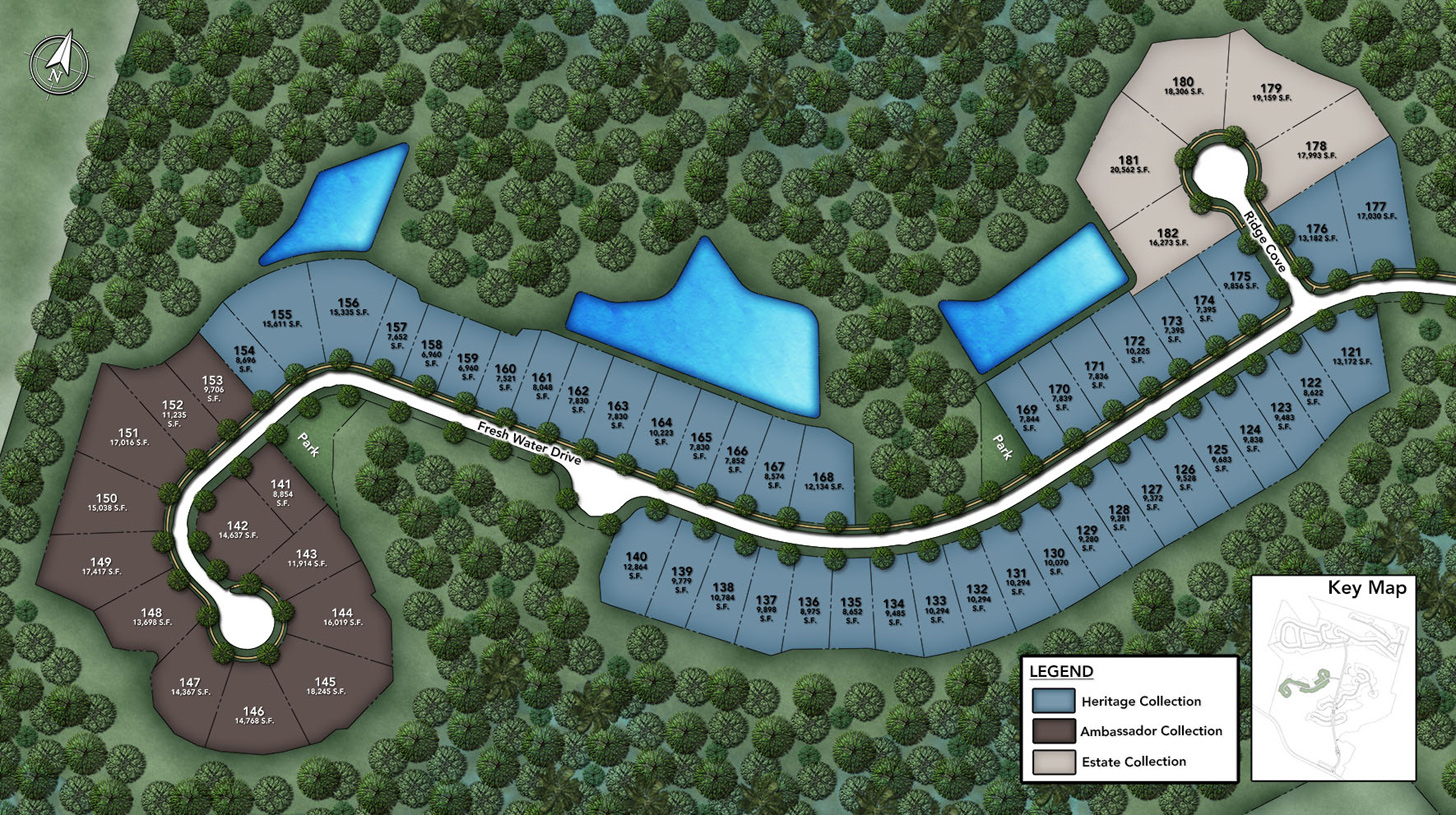 Julington Lakes - Julington Lakes - Heritage Collection Site Plan III