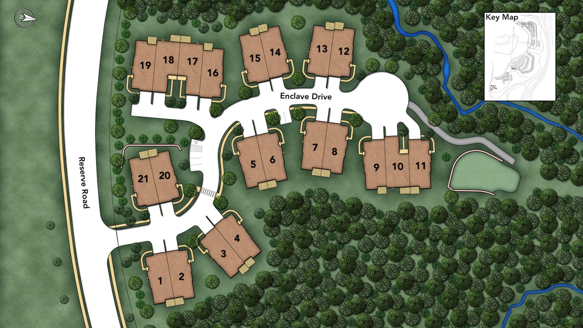 Home Design 06810 Part - 30: ... Enclave Site Plans.