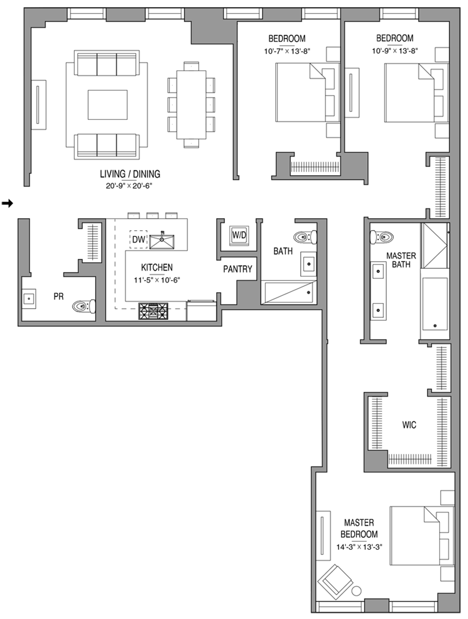 Residence 604