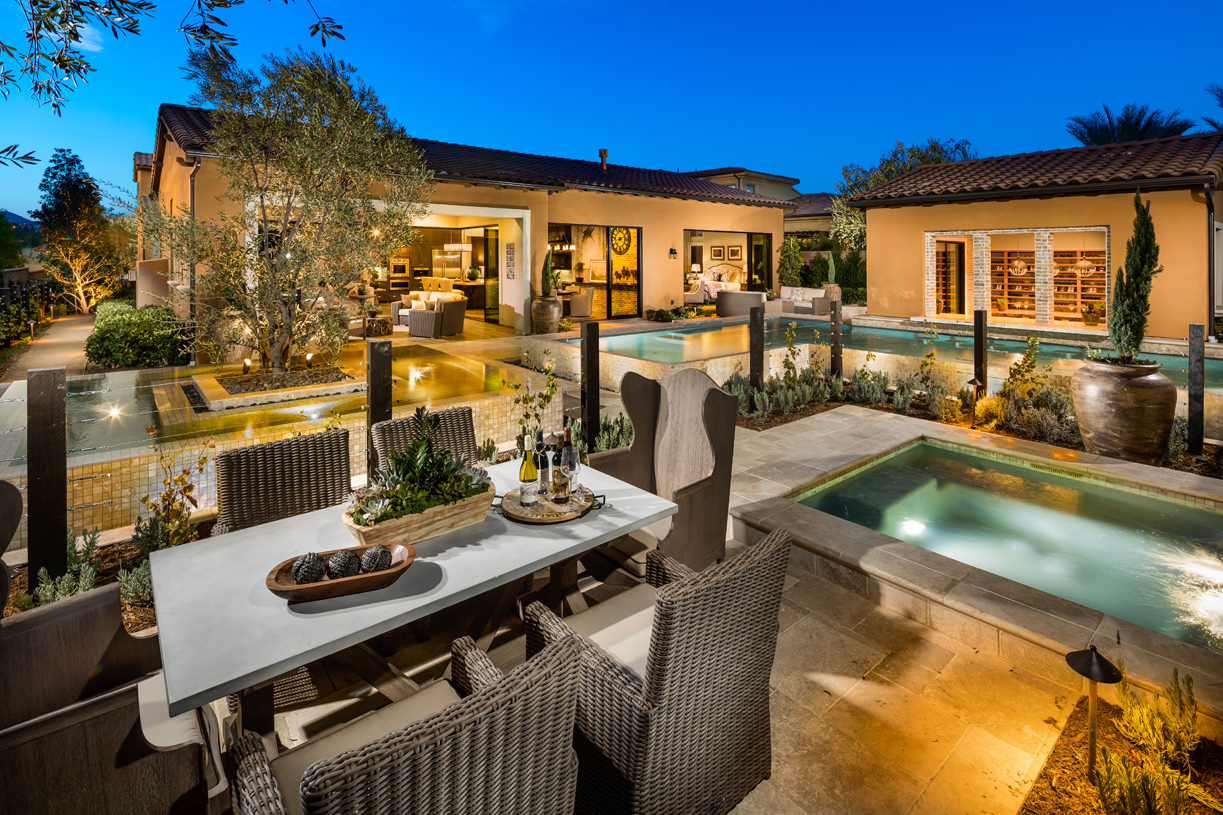 Expansive home sites