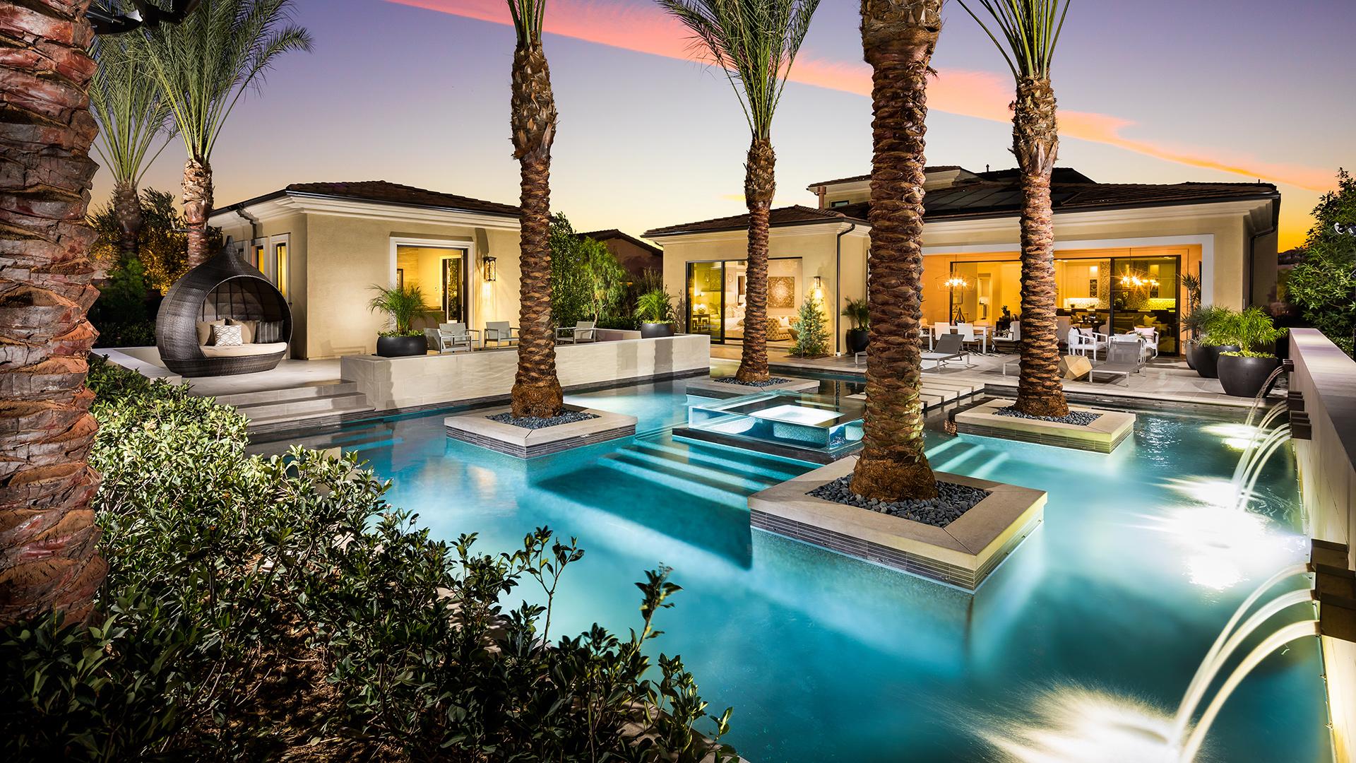 Luxury outdoor living spaces