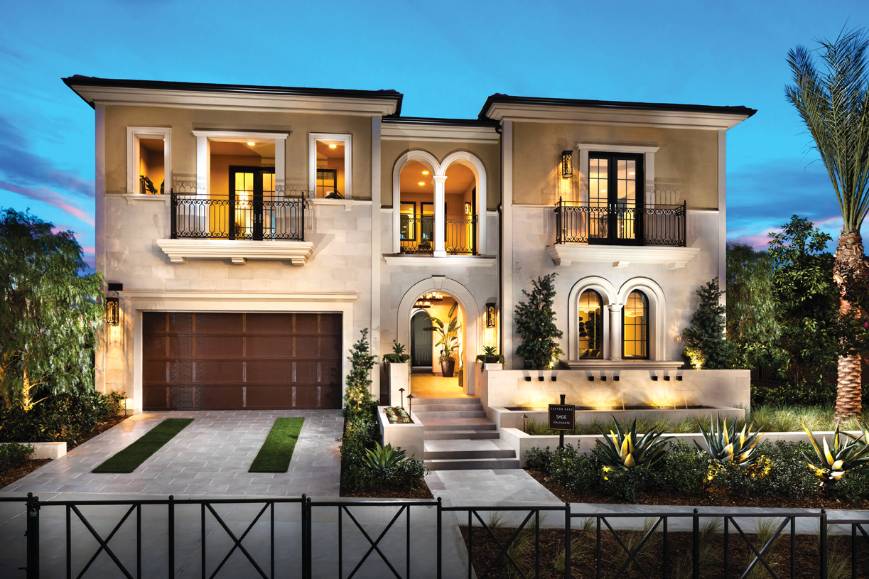 Two-story homes available