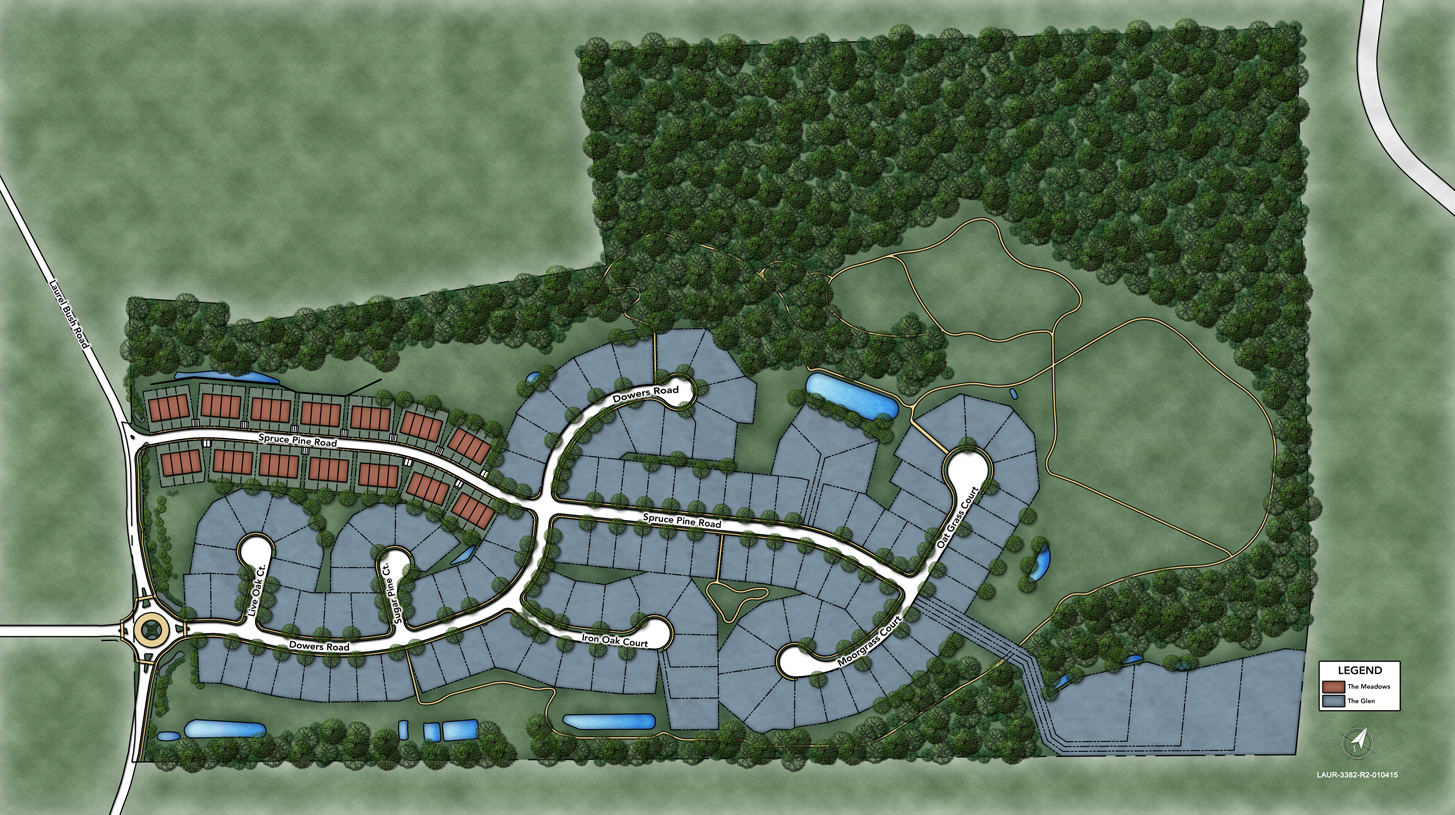Laurel Ridge Overall Site Plan