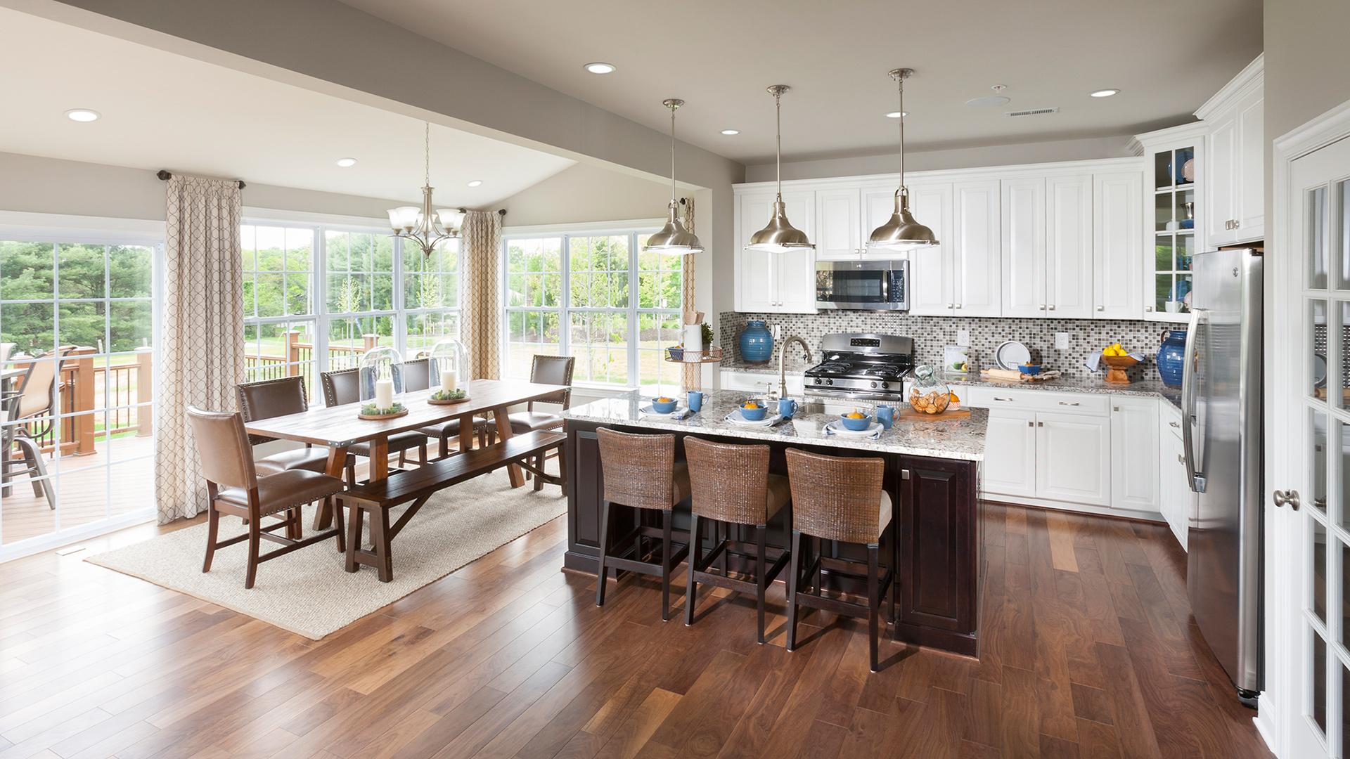 Woodstock Berkshire kitchen and breakfast room