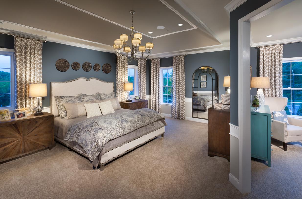 Woodstock Berkshire primary bedroom suite