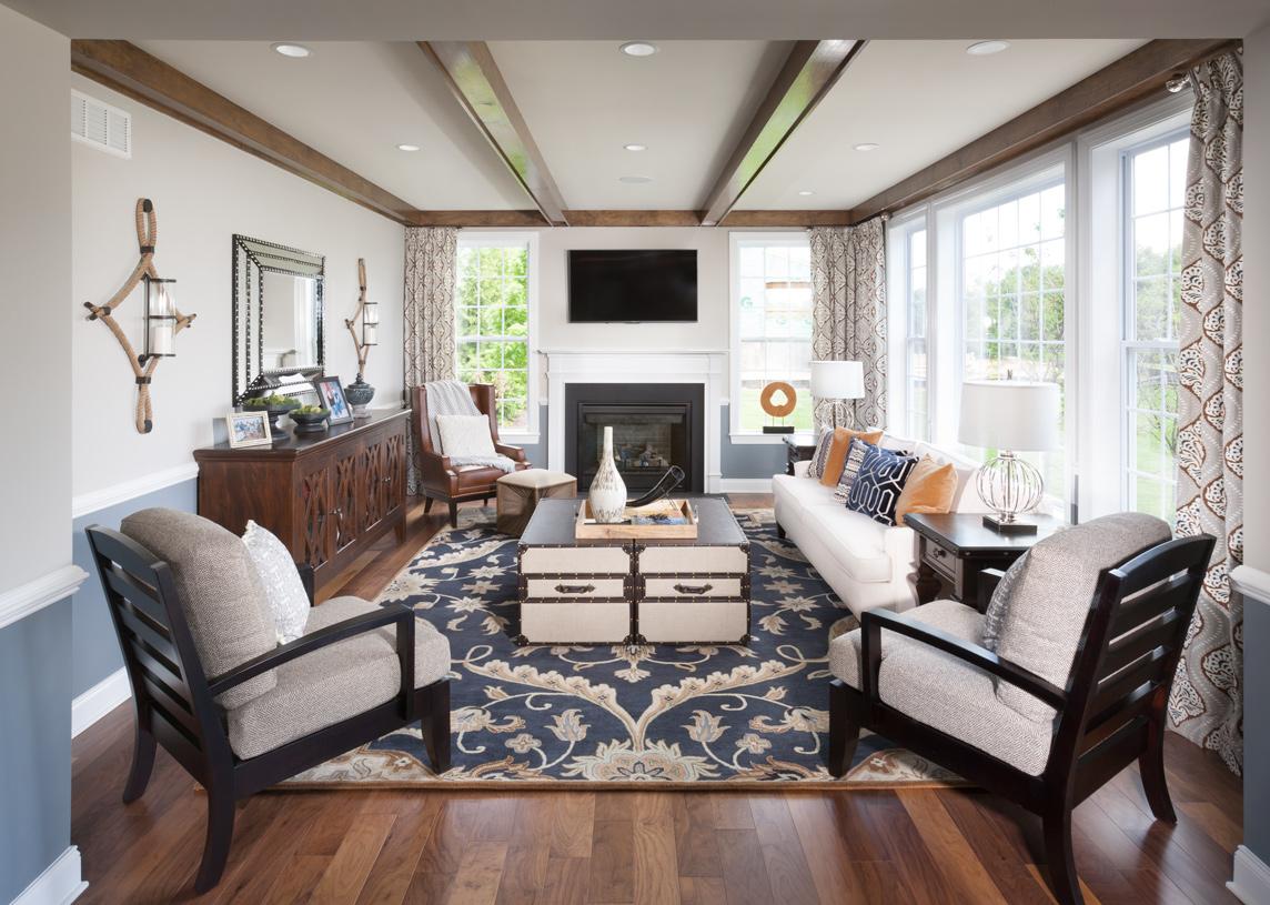Woodstock Berkshire living room