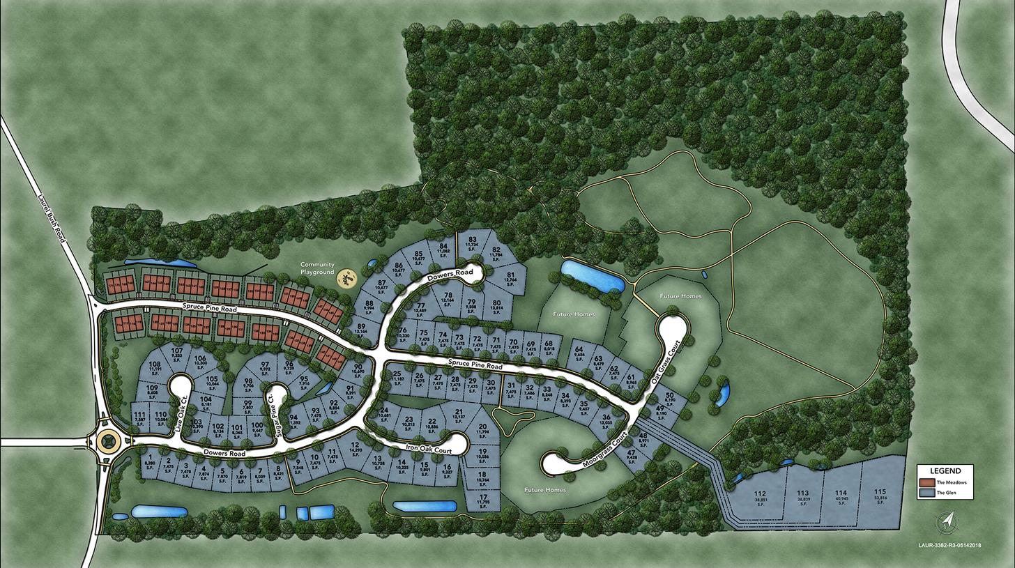Laurel Ridge Overall Site Plan