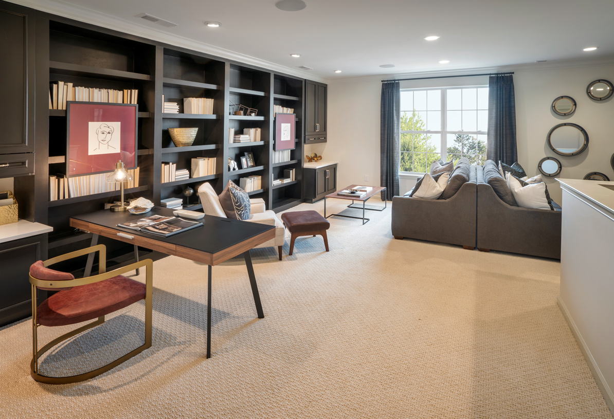 Stonewyck's loft is perfect for a private work from home space