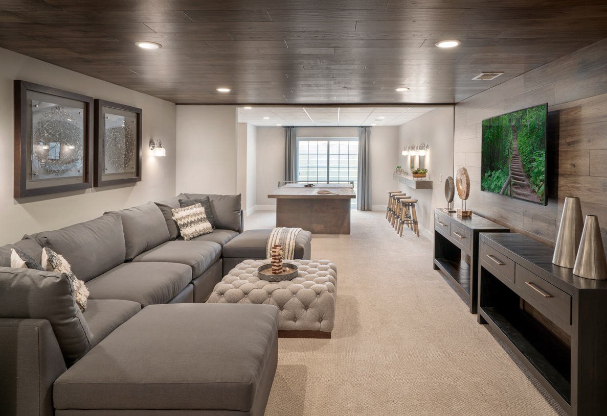 Basements available on select home sites