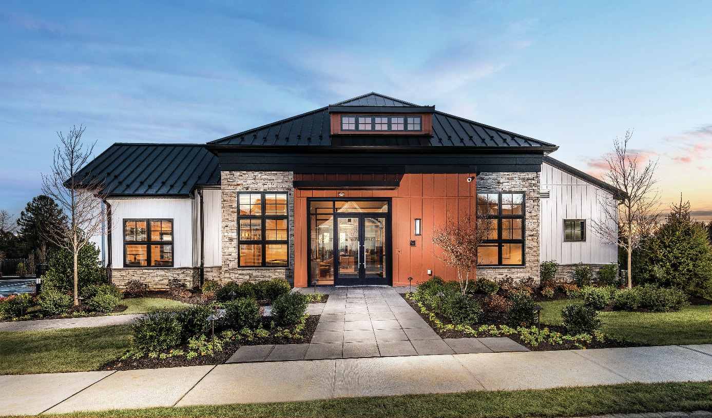 Clubhouse with outdoor pool, recreational courts, fitness center and more