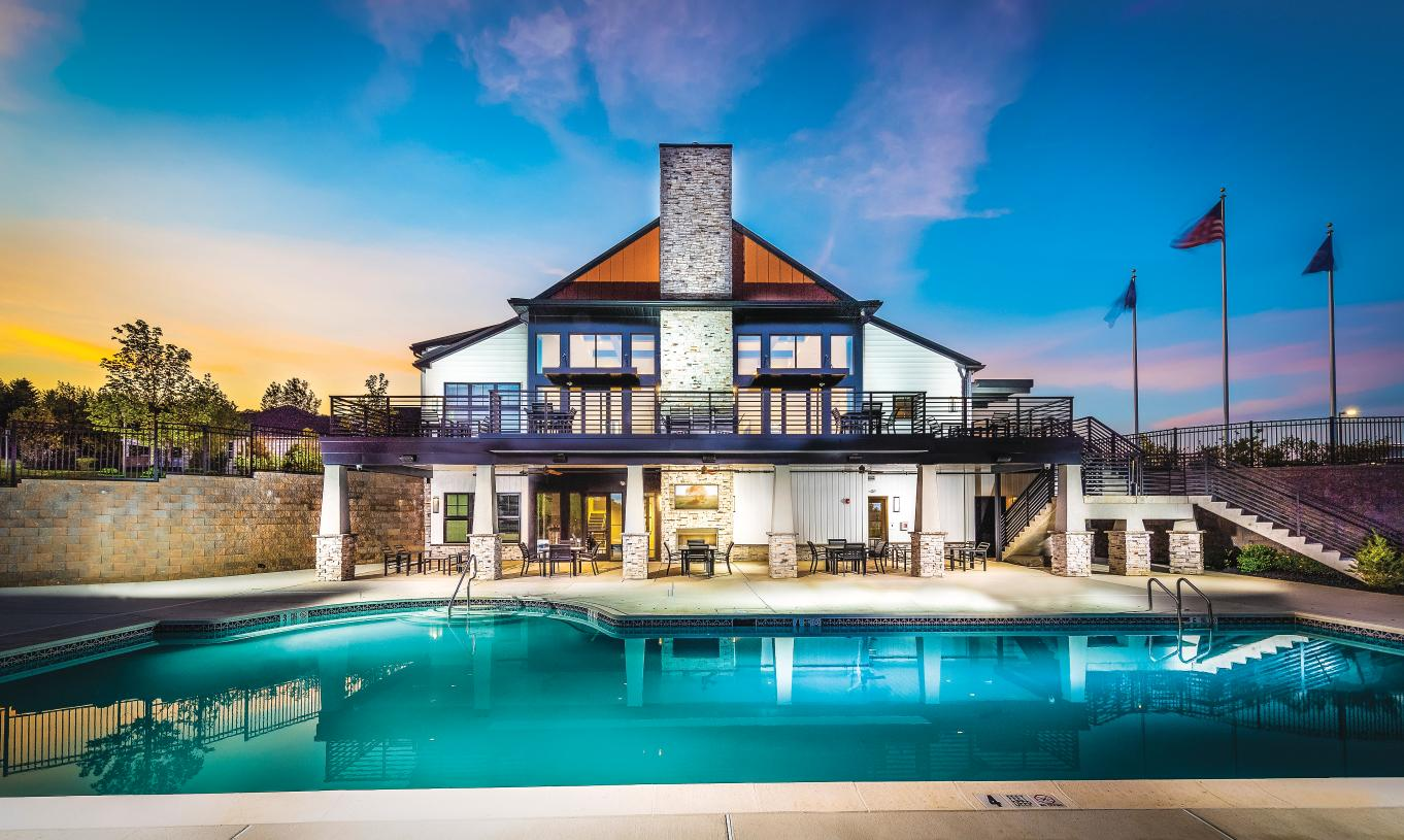 Fantastic resort-style amenities at the exclusive community clubhouse