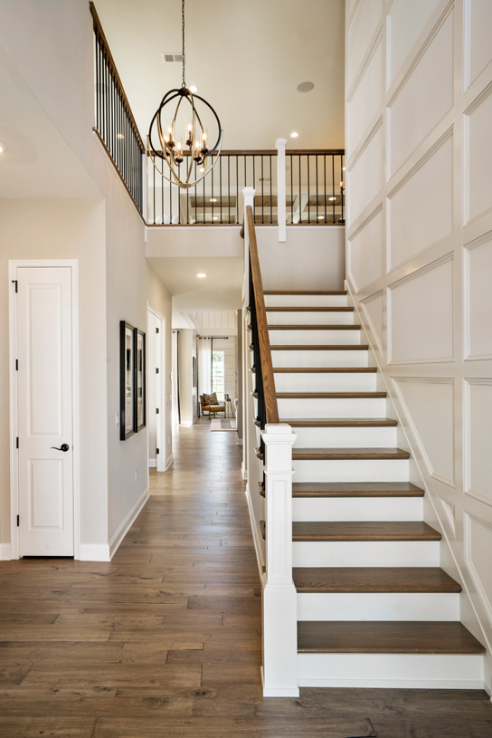 Berwick two-story foyer creates a memorable entry