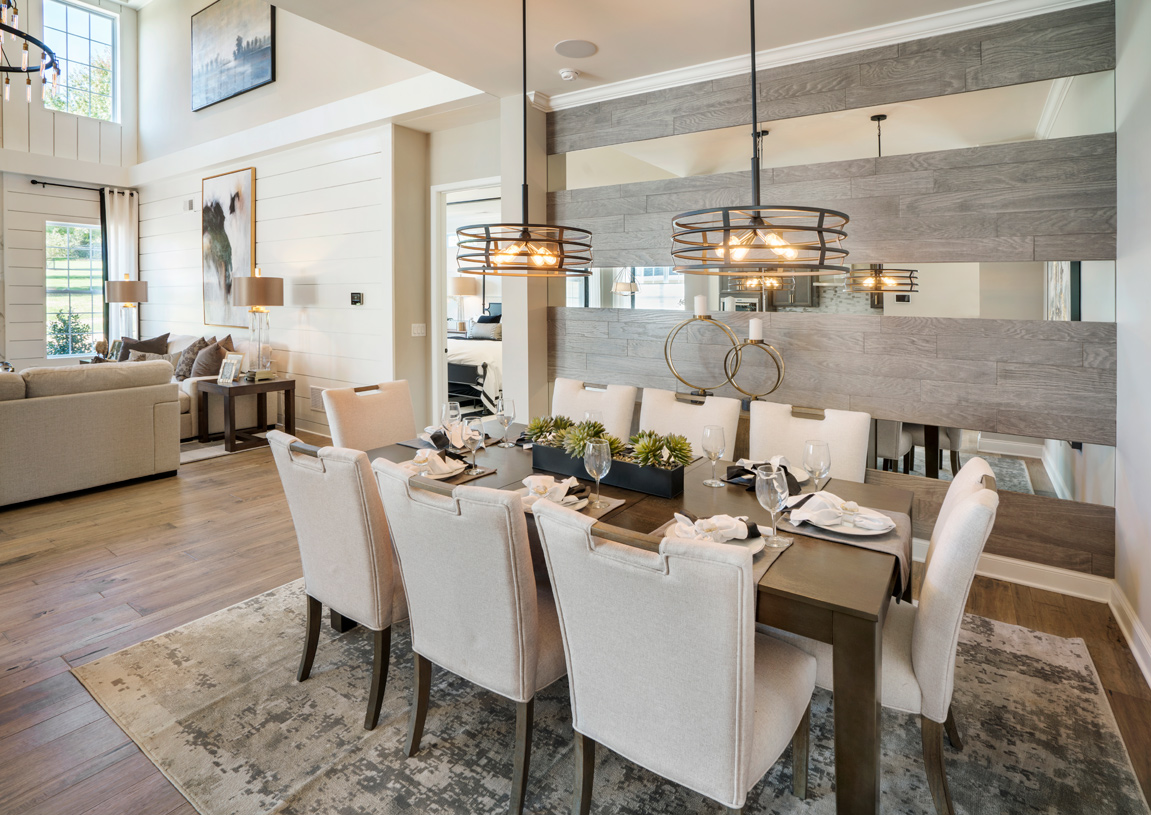 Entertain in the Berwick's formal dining room