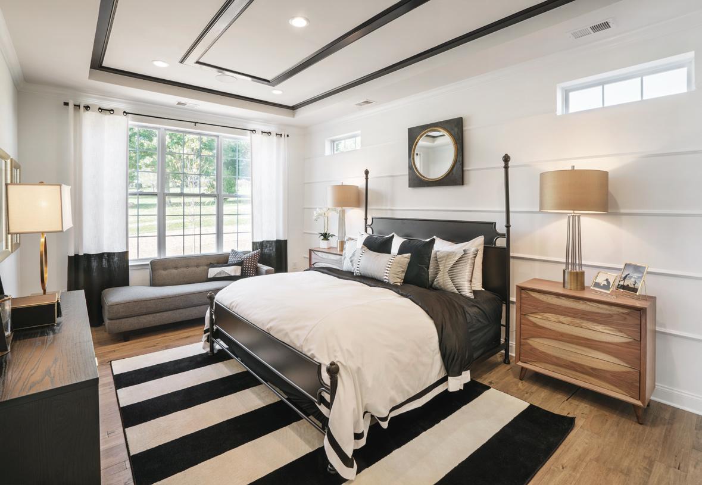 Luxurious first-floor primary bedroom suite in the Berwick