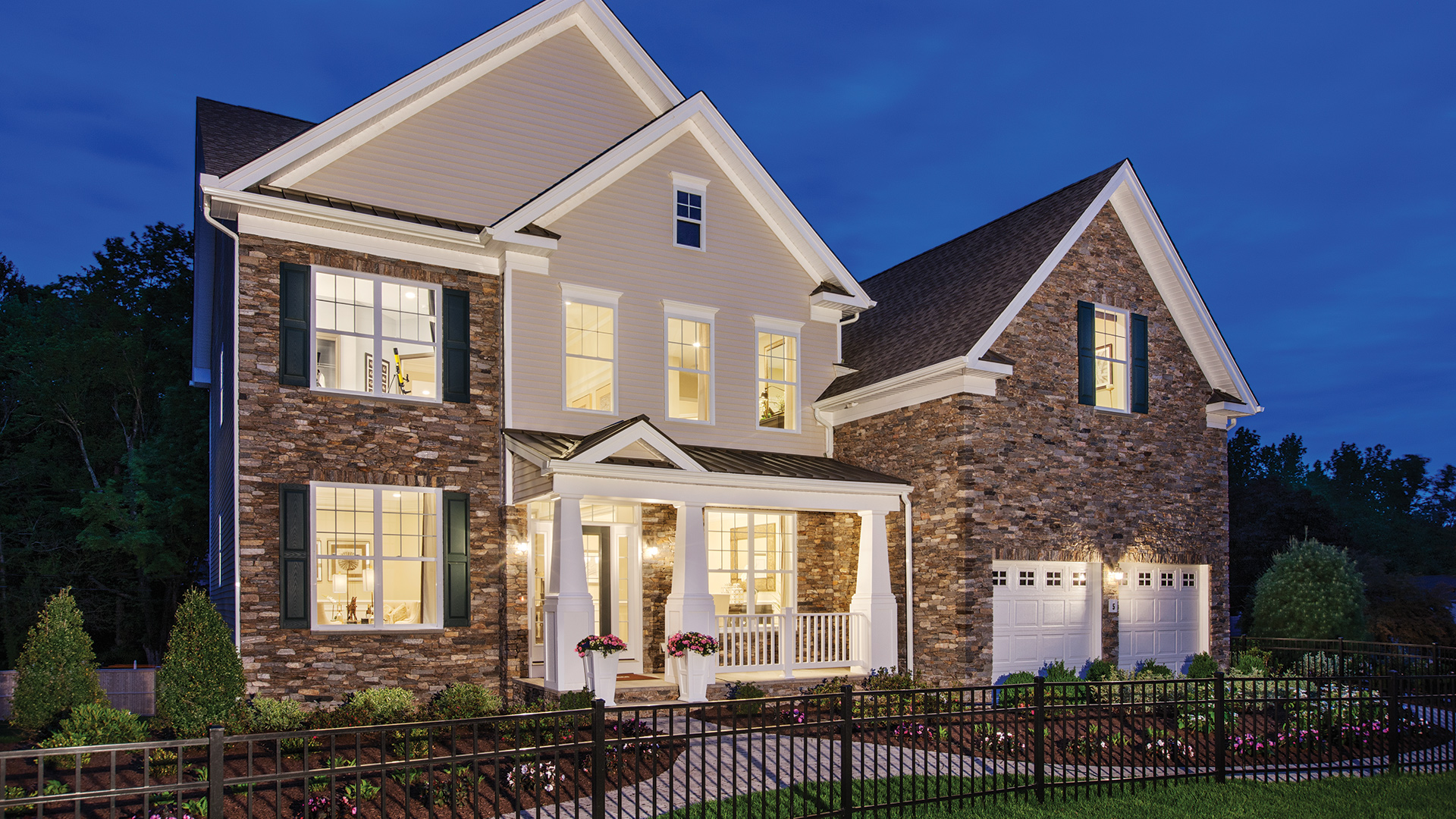 Ellsworth II Country Manor Model Home - Open Daily 11 am to 6 pm!