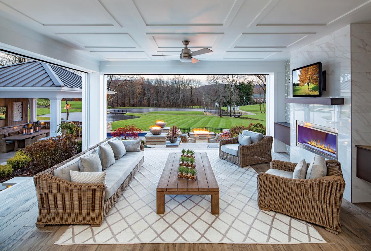 The best of luxury indoor/outdoor living awaits
