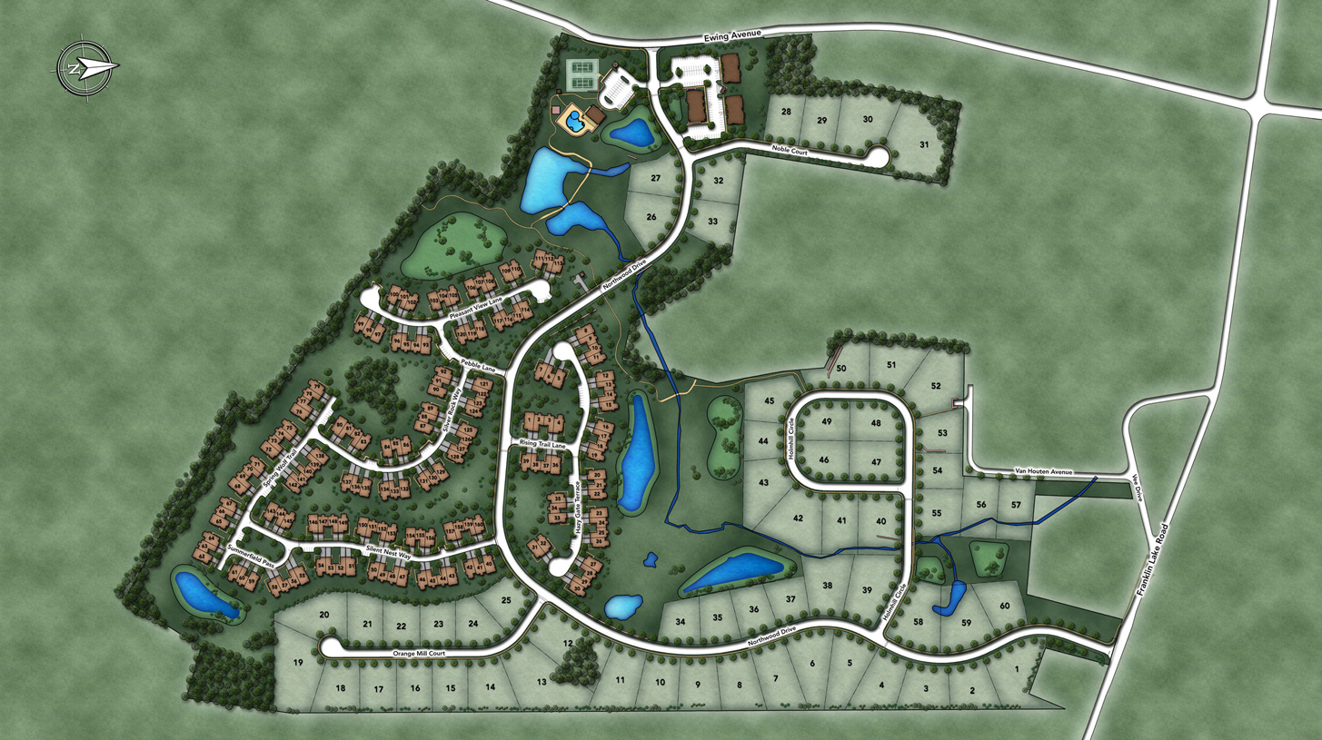 Reserve at Franklin Lakes Overall Site Plan