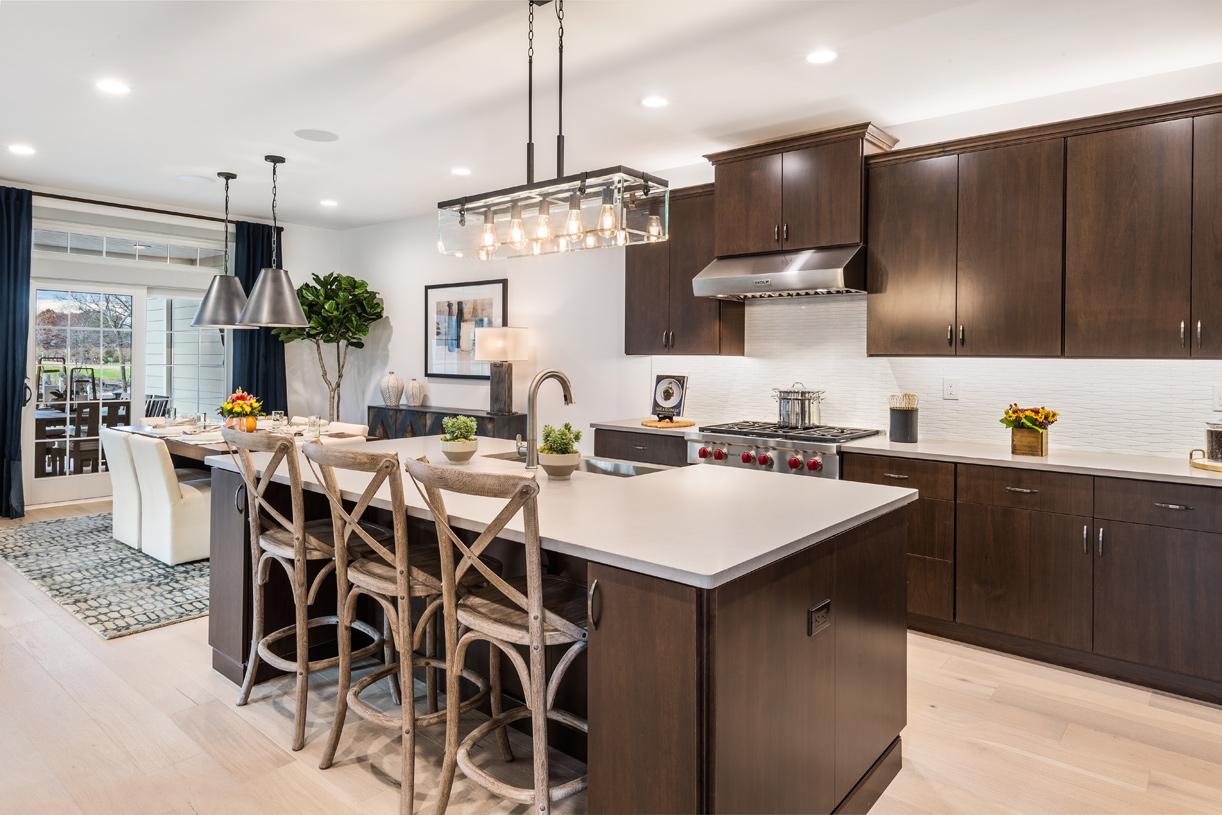 Modern styling of the Gladstone kitchen