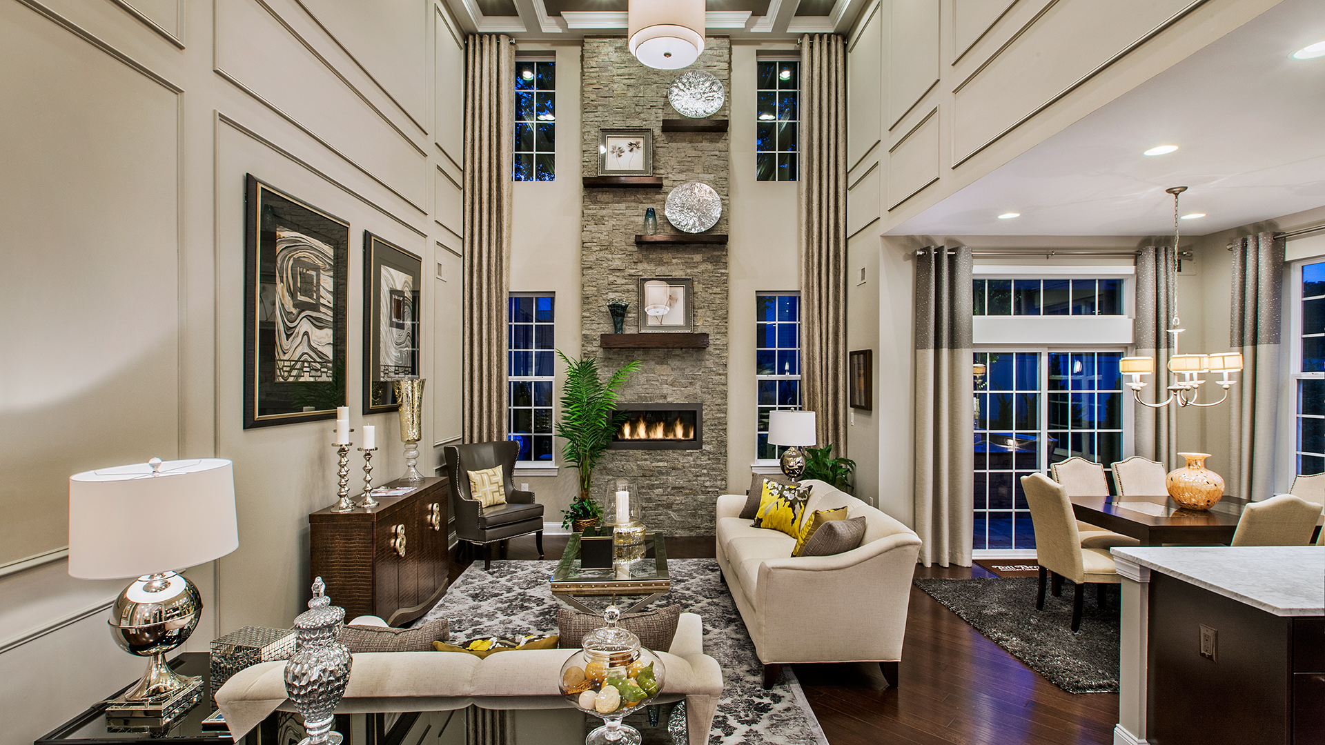 Stunning Volume Ceilings and Open Floor Plans