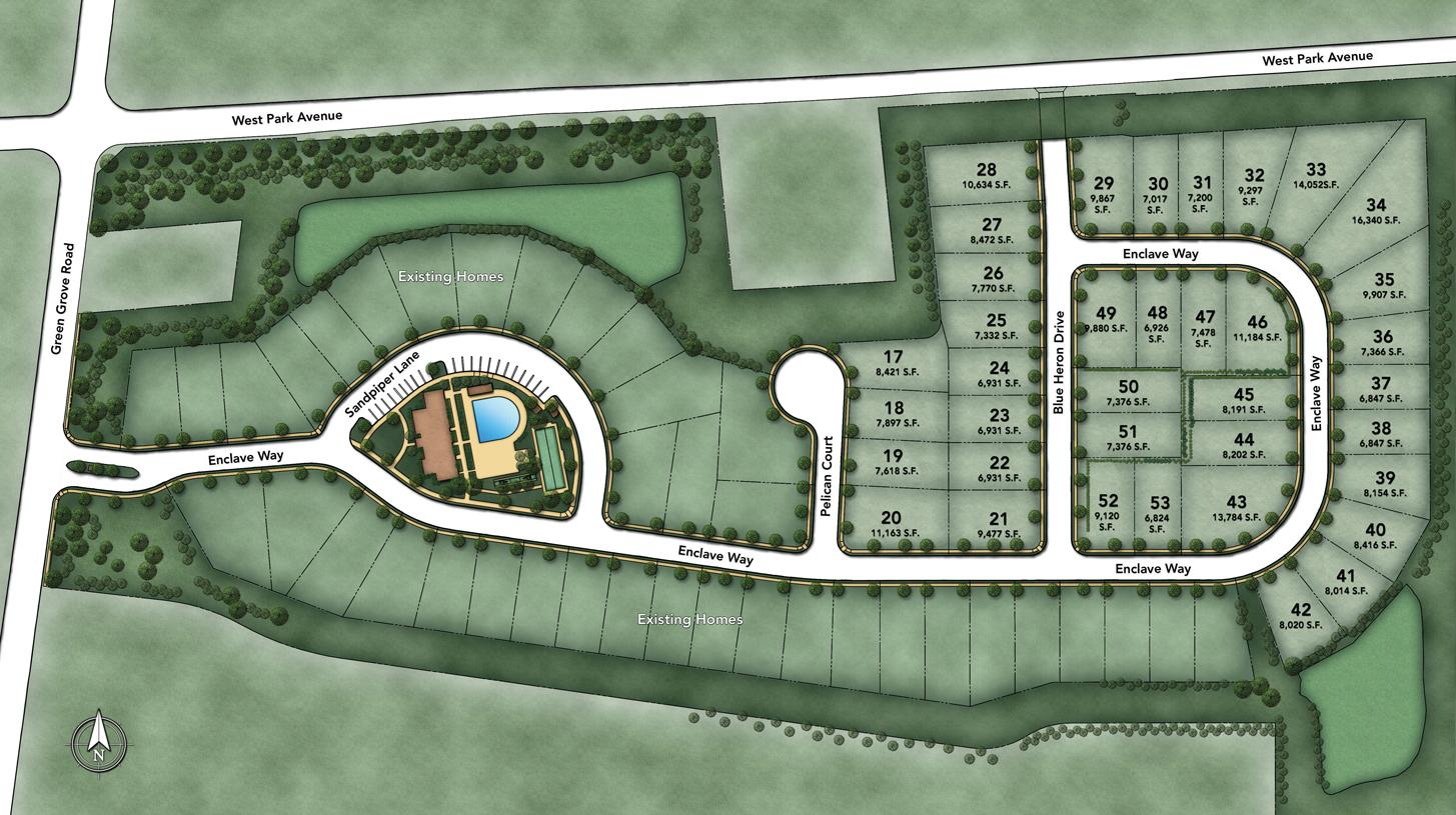 Enclave at Ocean Site Plan