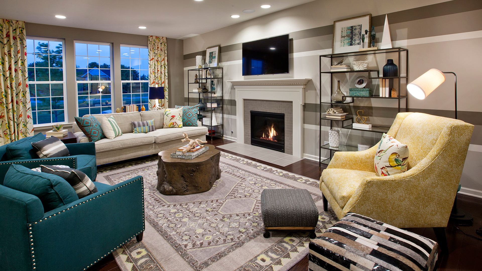 Hamlet Meadows on Toll Brothers Plymouth Floor Plan